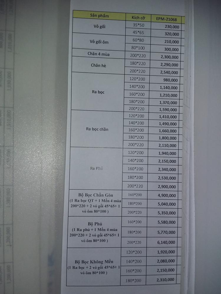 Bộ chăn ga Everon EPM 21068